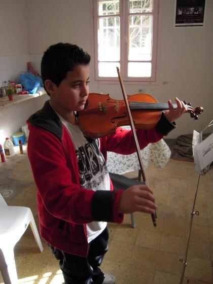 Futuro violinista